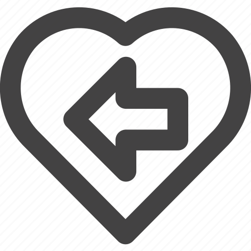 favorite, heart, love, medical, previous icon