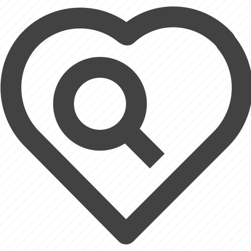 Favorite, heart, love, medical, search icon - Download on Iconfinder