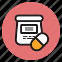 capsule, drug, health, hospital, medical, medicine, pill