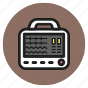 hospital, icu, medical, monitor, parameter, patient, supplies icon