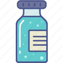 bottle, drugs, medicine, vaccine icon