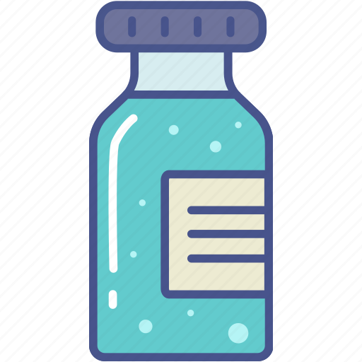 bottle, drugs, medicine, vaccine icon