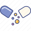 capsule, health, pill, vitamins icon