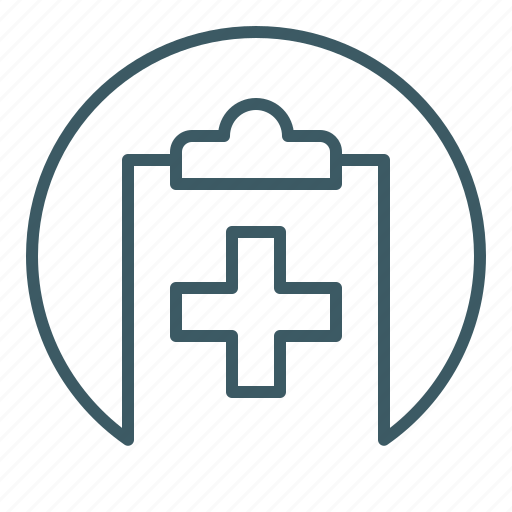 Document, file, health care, medical, report, write icon - Download on Iconfinder