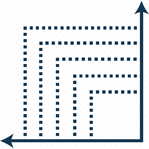 analytics, business loss, decreasing graph, descending chart, infographic, loss graph, market report icon