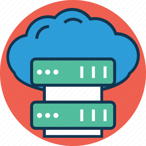 cloud computing, cloud server, computer network, data cloud, data storage, server, server rack, server share icon
