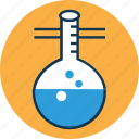 lab equipment, flask, lab, chemical, conical flask, erlenmeyer flask, laboratory experiment