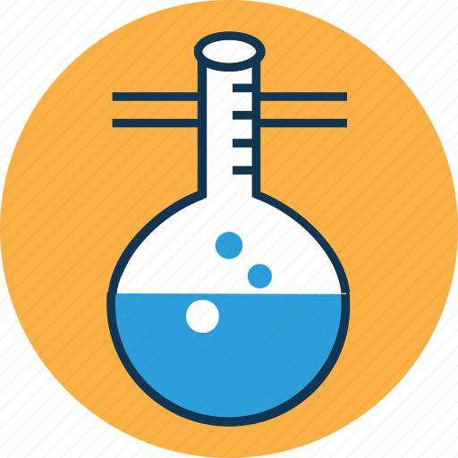 chemical, conical flask, erlenmeyer flask, flask, lab, lab equipment, laboratory experiment icon