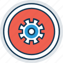 cog, customization, gear, gearwheel, options, preferences, setting icon
