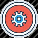 cog, customization, gear, gearwheel, options, preferences, setting icon