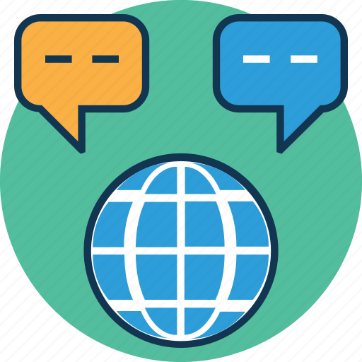 chat, chat balloon, chat bubble, chat worldwide, comments, speech balloon, speech bubble, talk icon