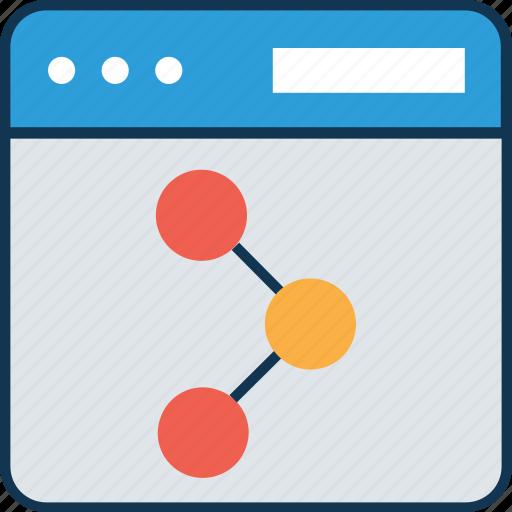 connection, data sharing, network, share, sharing, social media, social network icon