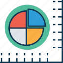 chart, circle chart, diagram, graph, infographics, pie chart, pie graph icon