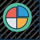 chart, circle chart, diagram, graph, infographics, pie chart, pie graph icon