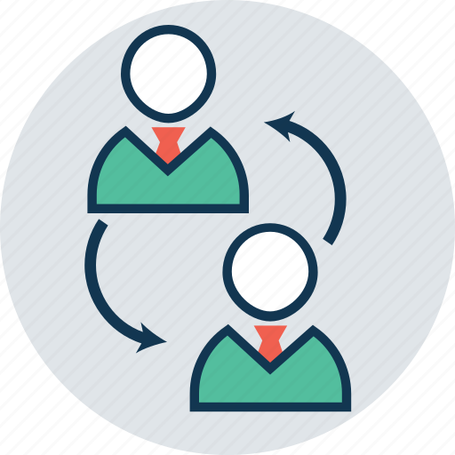 communication, deal, people, persons, shift change, talking, update icon