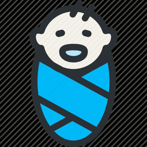 baby, born, child, health, infant, medical, obstetrics icon