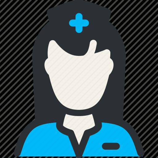assistance, doctor, health, medical, nun, nurse, personnel icon