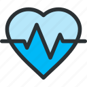 cardiograph, ecg, ekg, health, hearth, medical, pulse icon