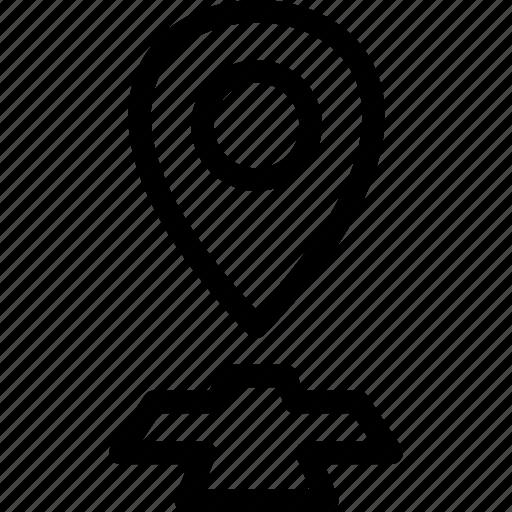 gps, health, hospital, location, marker, medical, pin icon