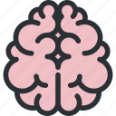 brain, health, idea, medical, neuroscience, organ, psychology icon