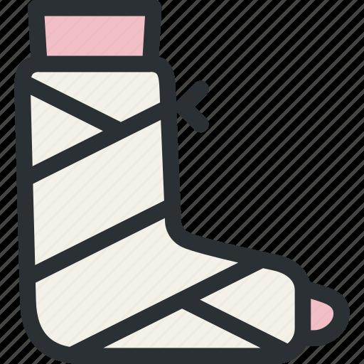 Fracture gypsum health leg medical plaster trauma for Red top gypsum plaster