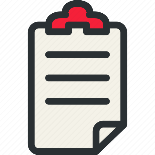 decument, health, insurance, list, medical, patient, prescription icon