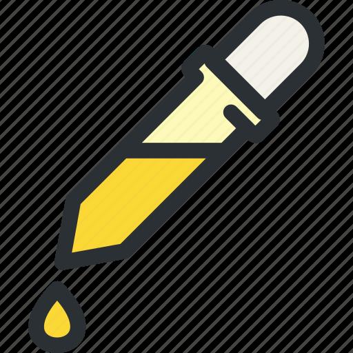 color, drip, health, laboratory, medical, research, sample icon