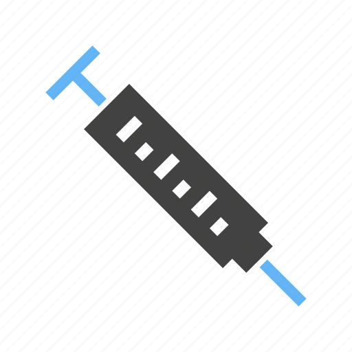 drug, injection, medicine, needle, syringe, treatment, vaccination icon