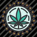 aids, cannabis, hiv, marijuana, medical, treatment icon