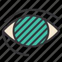 cannabis, eye, glaucoma, marijuana, treats, vision icon