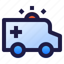 ambulance, emergency, health, healthcare, hospital, medical, medicine icon