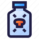 drug, emergency, health, hospital, medical, medicine, poison icon