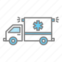 ambulance, doctor, emergency, emt, health, hospital, medical icon
