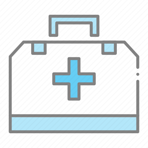 doctor, doctors kit, emergency, first aid kit, health, hospital, medical icon