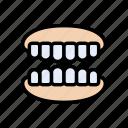dental, face, oral, teeth, tooth icon