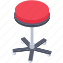 footrest, footstool, furniture, seat, stool icon