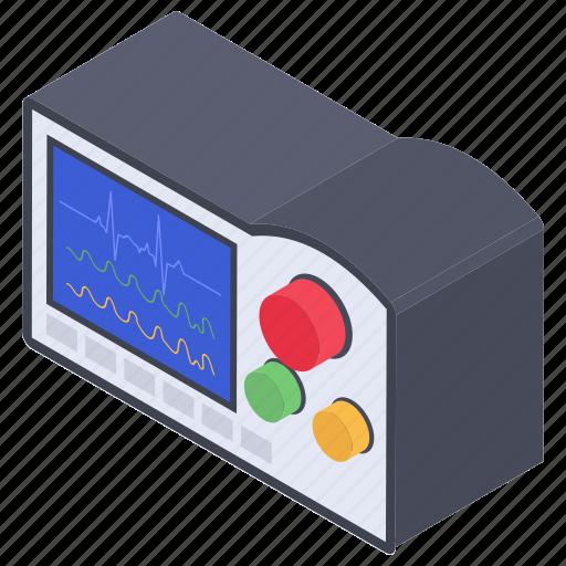 artificial cardiac, cardioverter, countershock device, defibrillator, electronic device icon