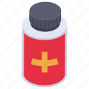 medical bottle, medication, medicine jar, pills jar, tablet jar icon
