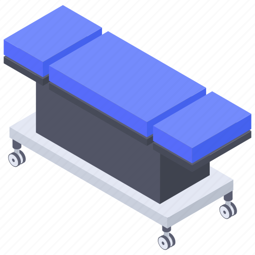 Carrying bed, hospital accessories, hospital stretcher, patient bed, stretcher icon - Download on Iconfinder