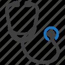 healthcare, medical, stethoscope icon