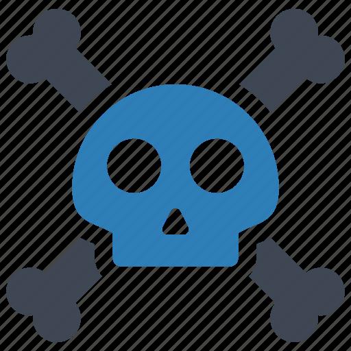 bones, skeleton, skull icon