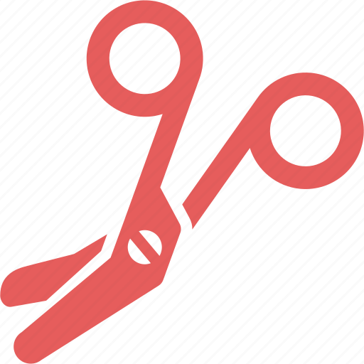bandage scissors, healthcare, medical supplies icon
