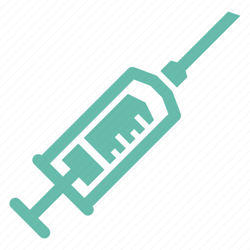 injection, syringe, treatment, vaccine icon