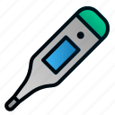 digital, healthcare, hospital, medical, temperature, thermometer, tools icon
