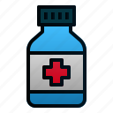 bottle, drug, health, healthcare, hospital, medicine, pharmacy icon