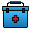 box, first aid kit, healthcare, hospital, medical, medicine, pharmacy