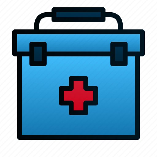 Box, first aid kit, healthcare, hospital, medical, medicine, pharmacy icon - Download on Iconfinder