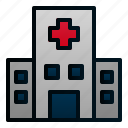 building, city, construction, healthcare, hospital, medical icon
