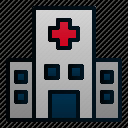 building, city, construction, healthcare, hospital, medical icon