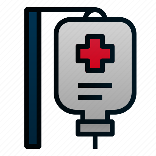 healthcare, hospital, infusion, medicine icon